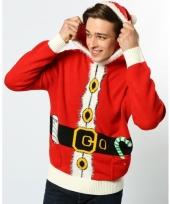 Kerst sweater rood voor dames en heren