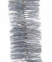 Kerst zilveren glitter folieslinger mystic christmas 270 cm