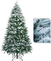 Kerstboom met witte takjes 210 cm