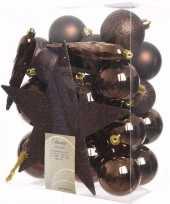 Kerstboom optuigen chique christmas compleet pakket 33 delig