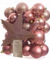 Kerstboom optuigen sweet christmas compleet pakket 33 delig 10097510