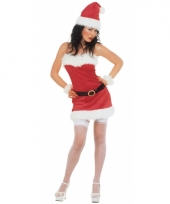 Kerstjurkje met accessoires dames