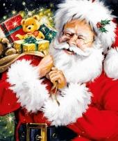 Kerstman en kado servetten 20 stuks
