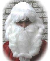 Kerstmannen luxe baardstel