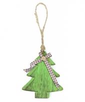 Kerstmis hanger kerstboom 11 cm