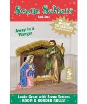 Kerstmis jozef en maria scenesetter