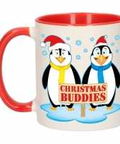 Kerstmis mok christmas buddies 300 ml