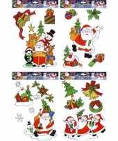 Kerstmis raamsticker set