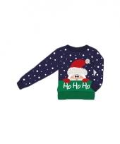 Kerstmis trui ho ho ho voor kinderen