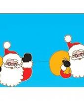 Kerstslinger kerstman 140 cm