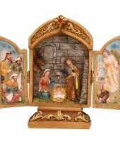Kerststal kapelletje 18 cm