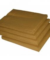 Kersttafel servetten goud 10063348