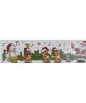 Kerstversiering kerst muziekband sticker