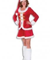 Kerstvrouw verkleed kostuum voor dames