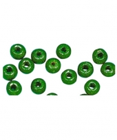 Kettingen maken 52 gras groene kralen