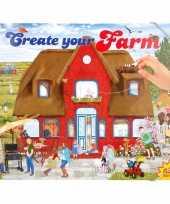 Kinder activiteiten boek boerderij 435 stickers