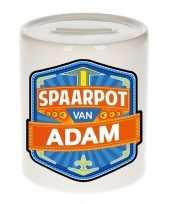 Kinder cadeau spaarpot voor een adam