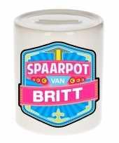 Kinder cadeau spaarpot voor een britt