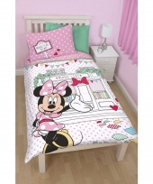Kinder dekbedovertrek minnie mouse