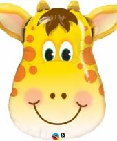 Kinder dierenballon giraffe 81 cm
