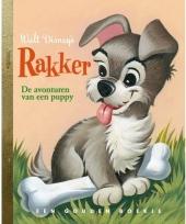 Kinder disney voorleesboek rakker de puppy