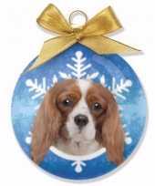 Kinder kerstbal hondje cavalier
