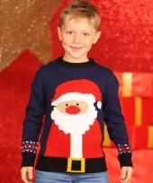 Kinder kerstmis trui met kerstman