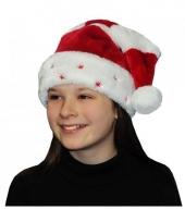 Kinder kerstmuts met sterretjes