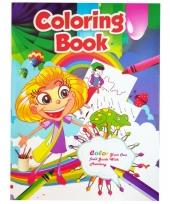 Kinder kleurboek 2 tot 8 jaar no 4