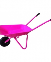 Kinder kruiwagen roze 77 cm