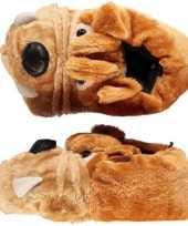 Kinder pantoffels bulldog