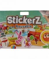 Kinder stickers voor autoraam groen