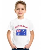 Kinder t-shirts van vlag australie