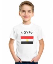 Kinder t-shirts van vlag egypte