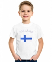 Kinder t-shirts van vlag finland