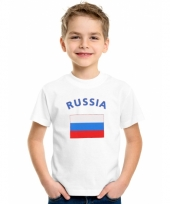 Kinder t-shirts van vlag rusland