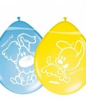 Kinderfeest ballonnen woezel en pip