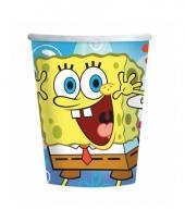 Kinderfeest bekertjes spongebob