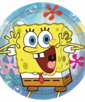 Kinderfeest borden spongebob