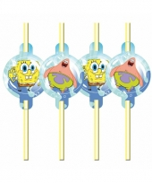 Kinderfeest rietjes spongebob