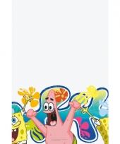 Kinderfeest tafelkleed spongebob 180 cm