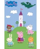 Kinderkamer decoratie poster peppa pig