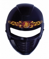 Kindermasker ninja zwart