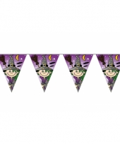 Kinderverjaardag heks vlaggenlijn 6 m