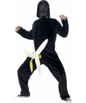 King kong met banaan kostuum