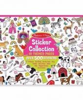 Kleding stickers 700 stuks