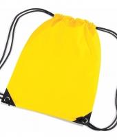 Kleine gele gymtasjes