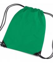 Kleine groene gymtasjes