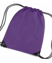 Kleine paarse gymtasjes