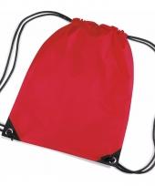 Kleine rode gym tasjes